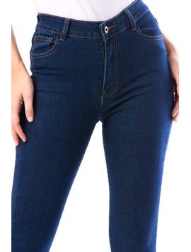 Jeans Dama Prtty18 Albastru-2
