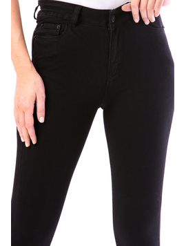 Jeans Dama Skt18 Negru-2