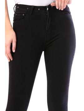 Jeans Dama Absty10 Negru-2