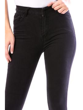 Jeans Dama Skynnytry16 Negru-2