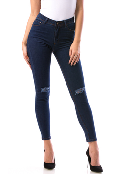 Jeans Dama Try17 Bleumarin