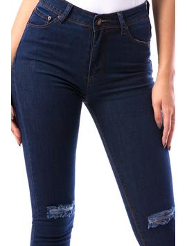 Jeans Dama Try17 Bleumarin-2