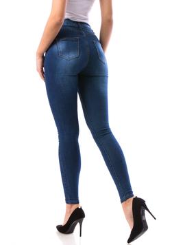 Jeans Dama Jkh19 Bleumarin