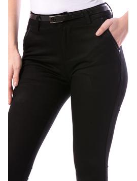 Pantaloni Dama JustyOffice17 Negru-2