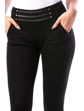 Pantaloni Dama ThreeLines18 Negru-2