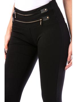 Pantaloni Dama ThreeLines19 Negru-2