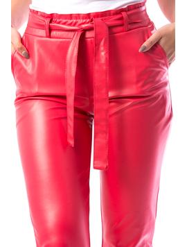 Pantaloni Dama GhjTy17 Rosu-2