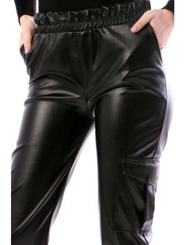 Pantaloni Dama EchyTx14 Negru-2