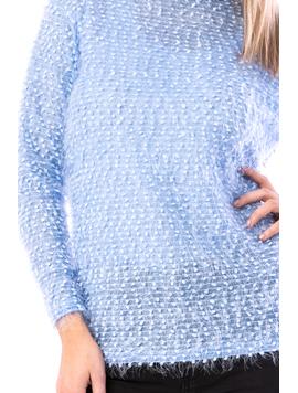 Pulover Dama Sklipsy15 Bleu-2