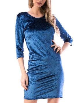 Rochie Dama Luxy56 Albastru-2