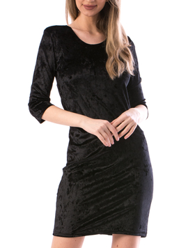 Rochie Dama Luxy56 Negru-2