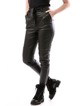 Pantaloni Dama AnkleZipperWinter Negru