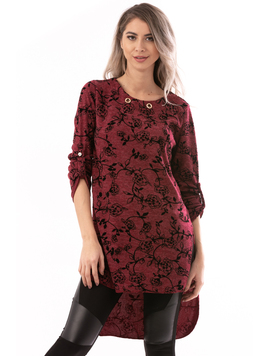 Bluza Dama LovelySunday Bordeaux