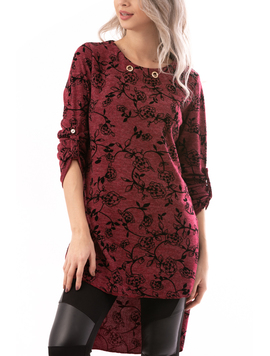 Bluza Dama LovelySunday Bordeaux-2