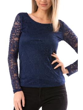 Bluza Dama Ddannty67 Bleumarin-2