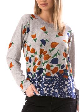 Bluza Dama CollarOneLace10 Gri-2