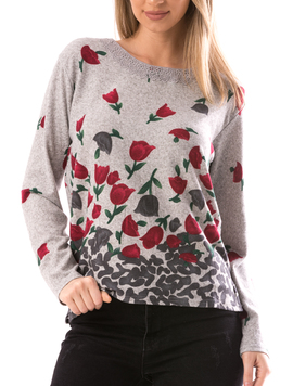 Bluza Dama CollarOneLace14 Gri-2