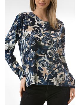 Bluza Dama CollarSimple44 Bleumarin-2