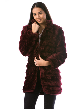 Cardigan Dama LuxurySoft24 Grena
