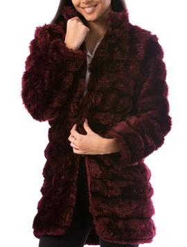 Cardigan Dama LuxurySoft24 Grena-2