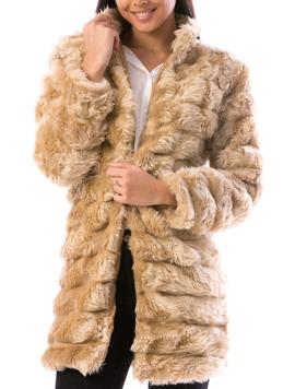 Cardigan Dama LuxurySoft24 Bej-2