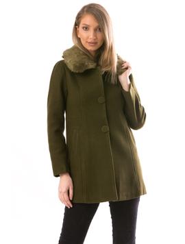 Palton Dama NiceToHave16 Kaki