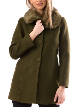 Palton Dama NiceToHave16 Kaki-2