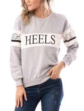 Bluza Dama Heels Gri-2