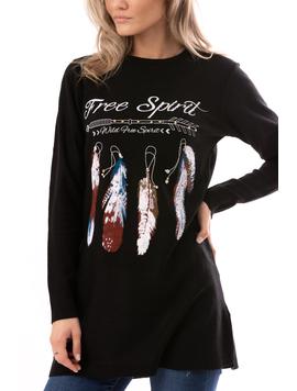 Bluza Dama FreeSpirit Negru-2