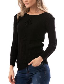 Bluza Dama HonestDream Negru-2