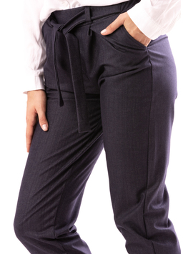 Pantalon Dama OfficeYoji Gri Inchis