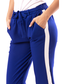 Pantaloni Dama JumpOut Albastru Electric-2
