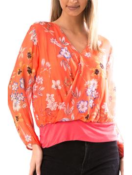 Bluza Dama Katryna44 Portocaliu-2