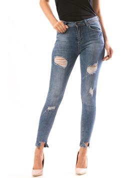 Jeans Dama ShenShi89 Bleumarin