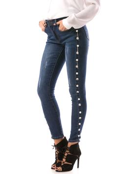 Jeans Dama Lessy78 Bleumarin