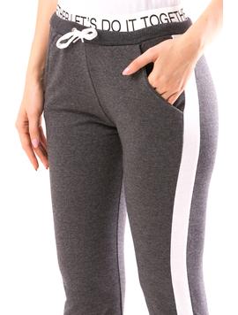 Pantaloni Dama ToghetherYs19 Gri-2