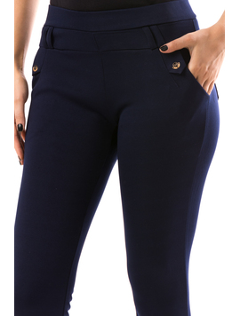 Pantaloni Dama Myrytst10 Bleumarin-2