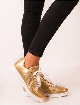 Adidasi Stil Clasic Dama Auriu