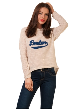 Bluza London Stars Beige