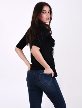 Bluza Dama Cu Imprimeu As Good As It Neagra-2
