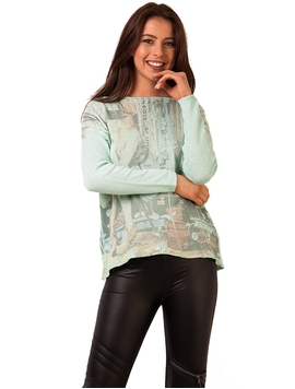 Bluza Dama Waiting For You Verde