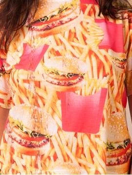 Bluza Dama Burger Necessities Alba-2