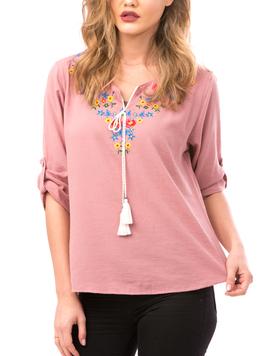Bluza Dama FloralChest Roz-2