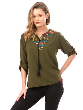Bluza Dama FloralChest Kaki