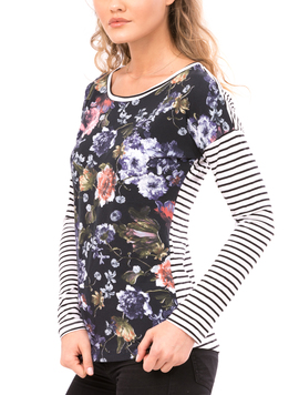 Bluza Dama VerticalBlueRose-2