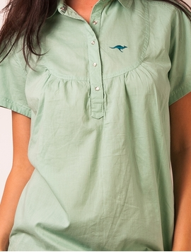 Camasa Dama Homeward Bound Mint Green-2