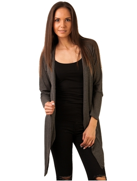 Cardigan In Colturi Simply Corner Love Petrol Grey