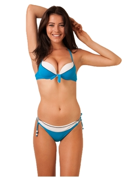 Costum De Baie Sunday And Me Blue&White