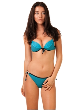 Costum De Baie Back To Summer Line Blue&Black