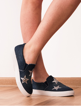 Espadrile Dama Denim Reward Bleumarin